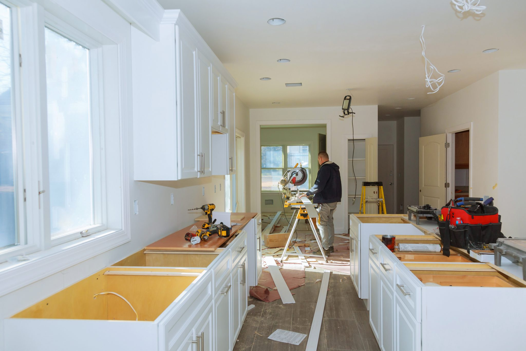 huis keuken laten verbouwen renoveren