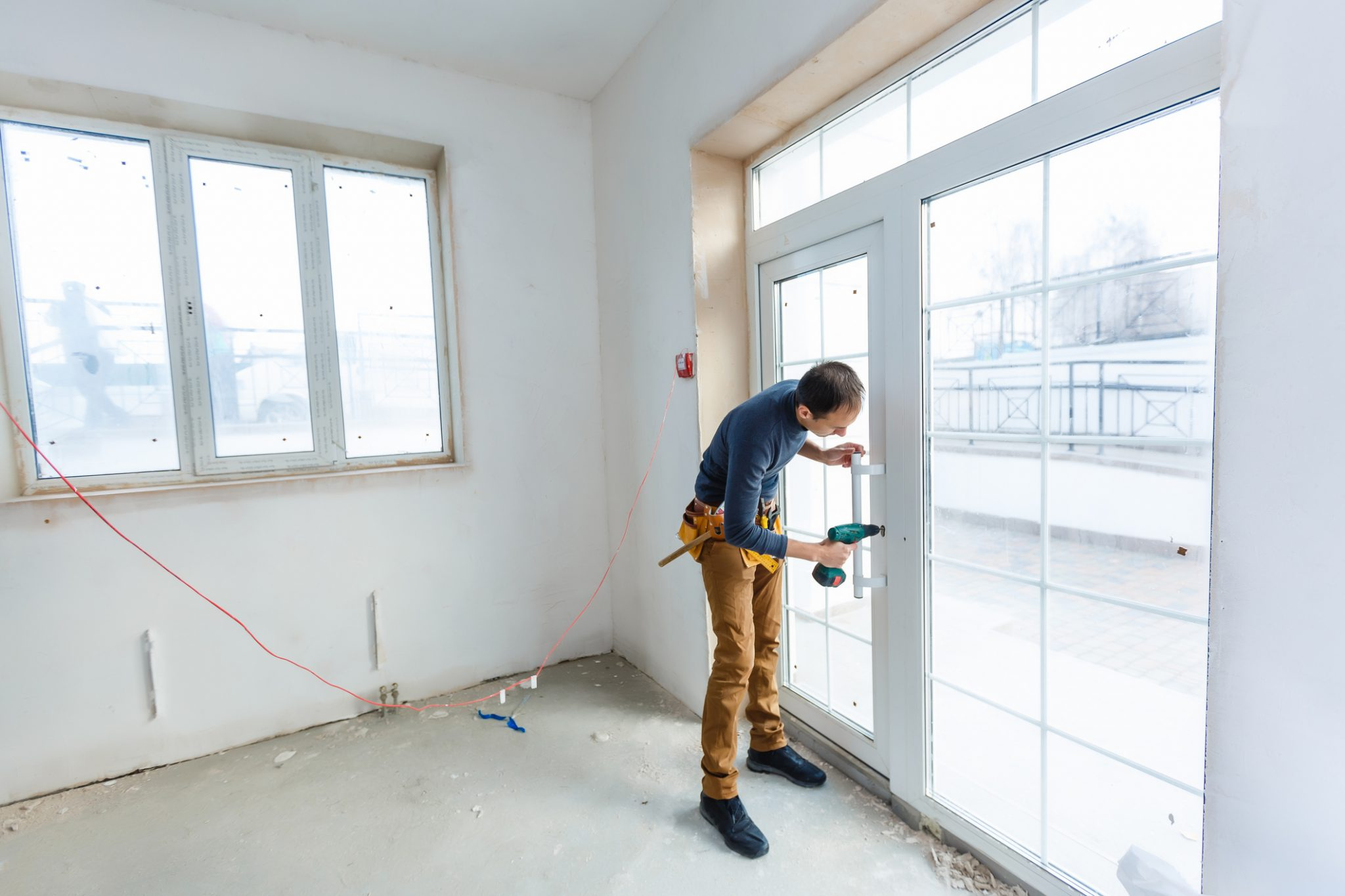 kozijnen deur ramen installeren dubbelglas klusjesman