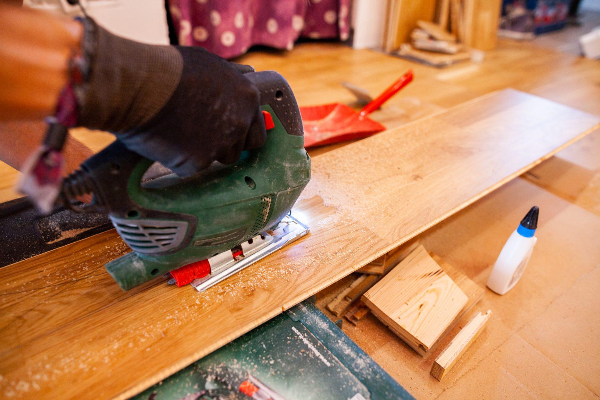 parket houten vloer laten leggen timmerman