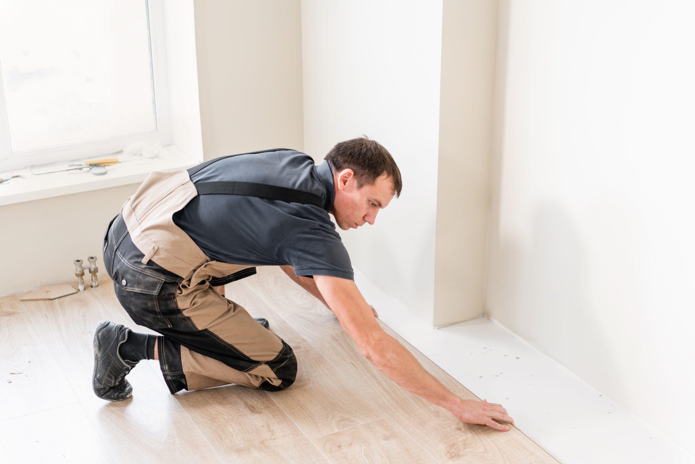 laminaat parket houten vloer laten leggen