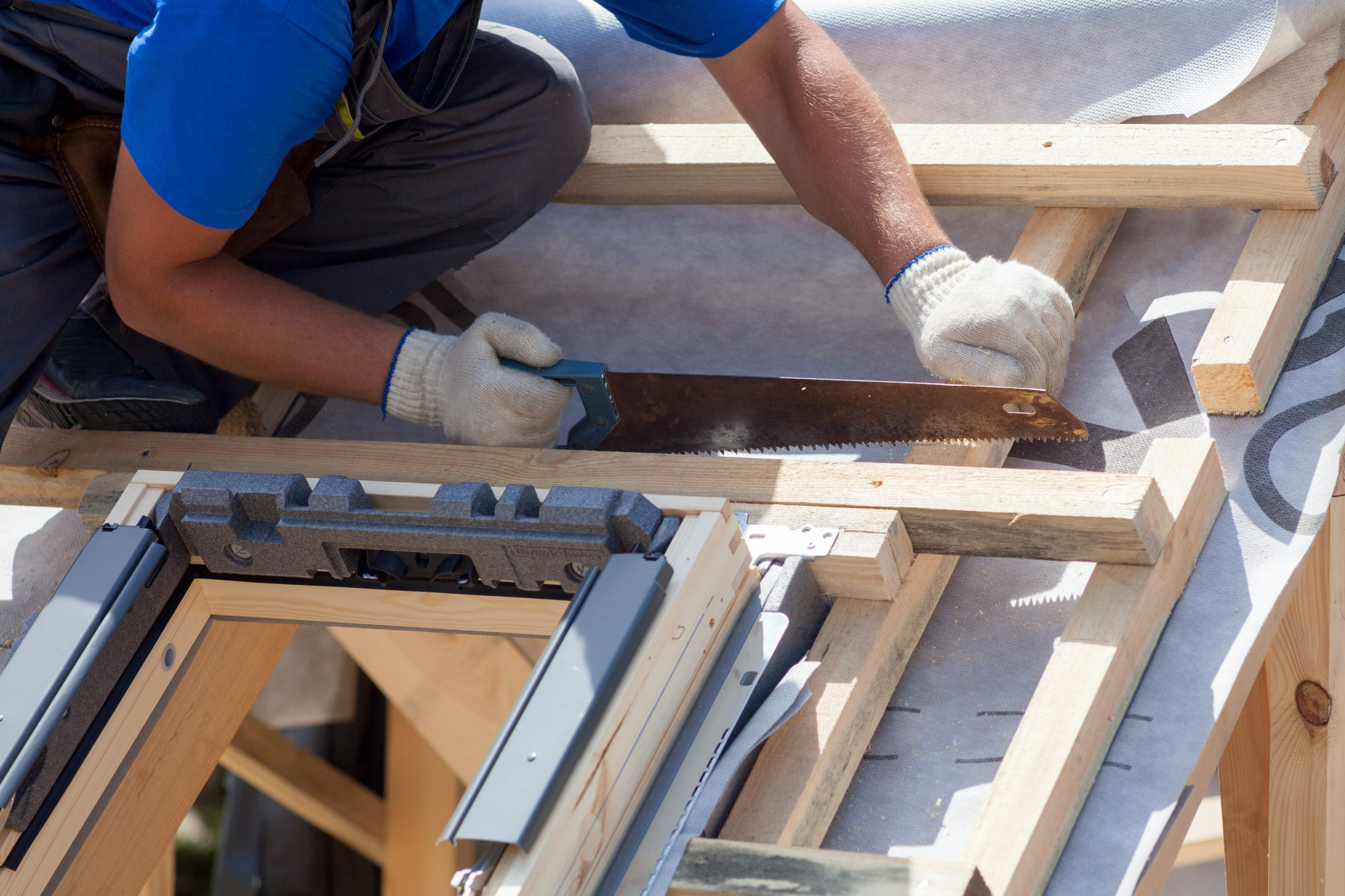 dak repareren dakraam installeren timmerman